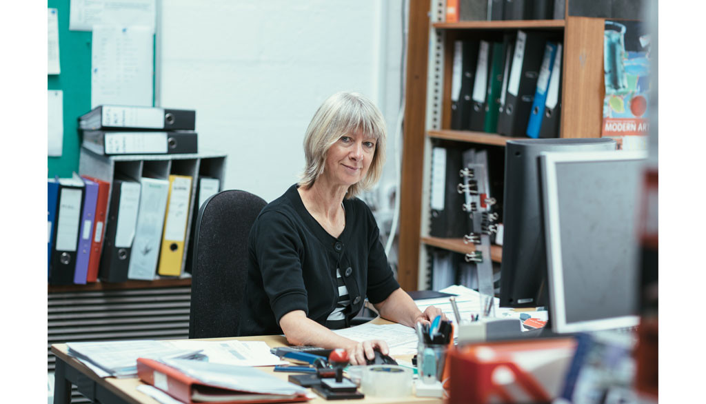 Finance Director - Sue Scregg