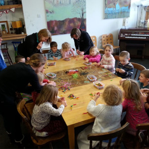 Jewellery workshop for Windmill Nursery with Anna Pope