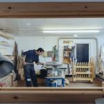 Furniture Designer-Maker Tristan Harris, Studio E03, Elliott Hut ©Kirstin Prisk Photography