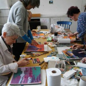 Julia-Rowlands - Expressive Use of Colour Workshops