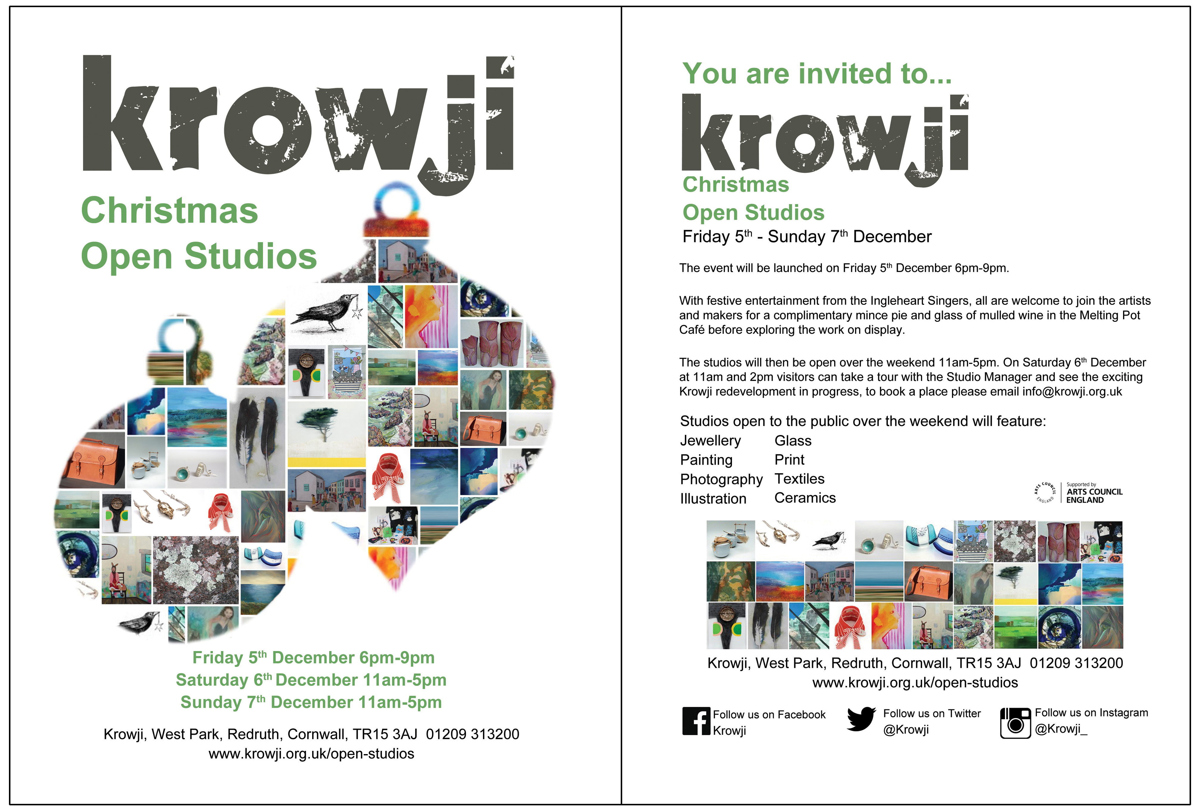Krowji Xmas OS 2014 flyer for web