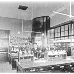 Science Lab in the 1950's - now the Melting Pot Café with studios upstairs
