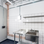 Percy Williams Building Wash Room, designed by 2020 ©Kirstin Prisk Photography