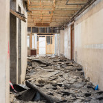 Preparing for demolition, March 2014 ©Kirstin Prisk Photography