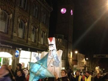 Christmas procession 2015