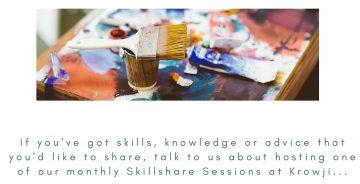 SkillShare Session Callout-Krowji