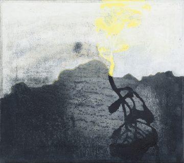 Kerry Harding Painting Trevellas Shadow