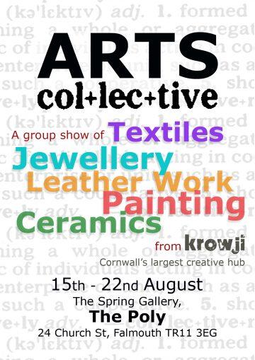Arts Collective Flyer-Krowji