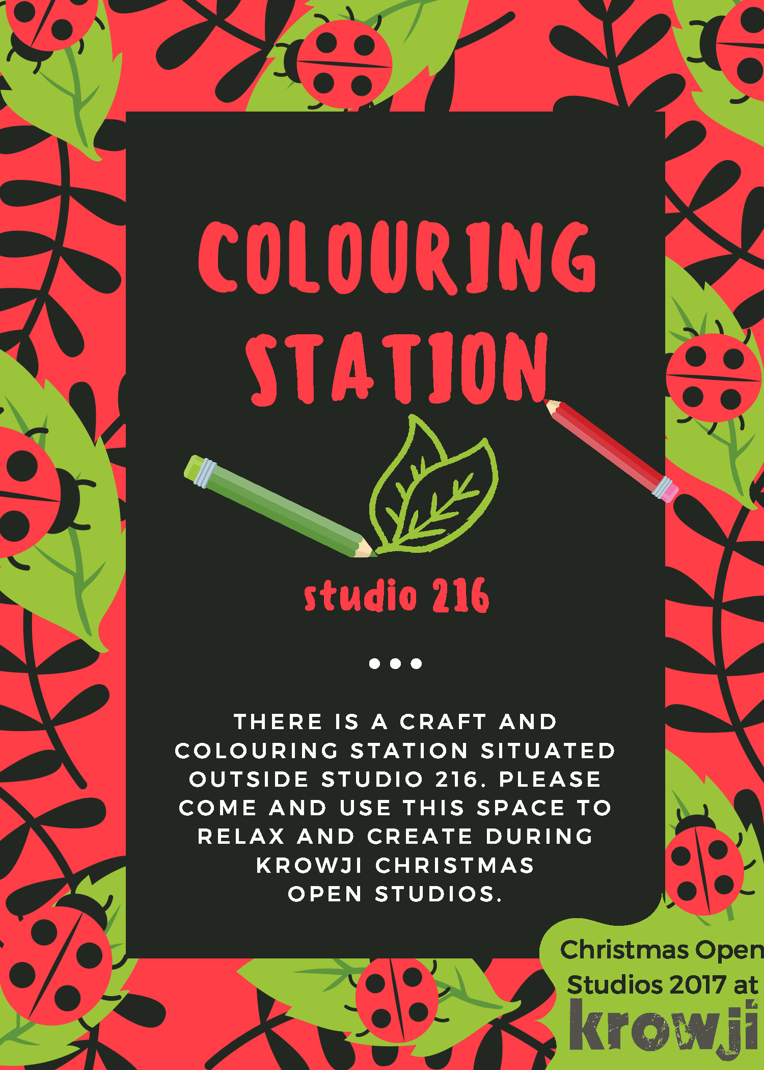 colouring station