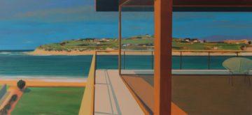 Hayle Rivermouth, 2017, acrylic on canvas, 110x50 cm (2)