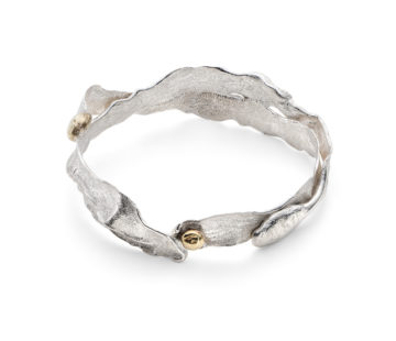Sea Siren, Silver Bangle - Claire S-B