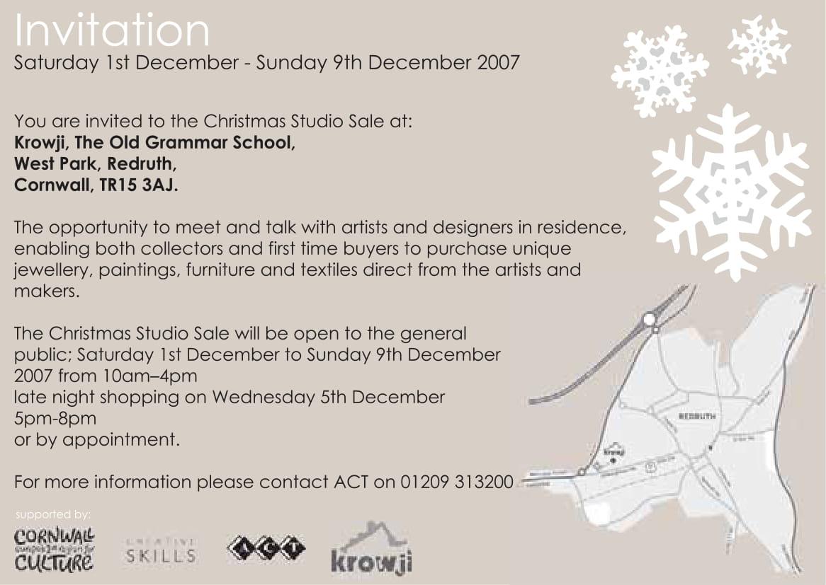 Christmas Studio Sale E-flyer-2