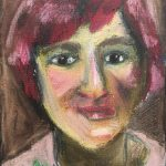 Jane Bath, Woman with Red Hair,