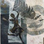 Fijke Middendorp, Joy, monoprint on paper